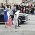 Le baptême des jumeaux du prince Frederik et de la princesse Mary de Danemark, prénommés Vincent et Joséphine, a eu lieu en l'église d'Holmen, à Copenhague, le 14 avril 2011. Devant l'église, la foule les a acclamés à leur arrivée.