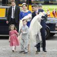 Le baptême des jumeaux du prince Frederik et de la princesse Mary de Danemark, prénommés Vincent et Joséphine, a eu lieu en l'église d'Holmen, à Copenhague, le 14 avril 2011.