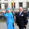 Le baptême des jumeaux du prince Frederik et de la princesse Mary de Danemark, prénommés Vincent et Joséphine, a eu lieu en l'église d'Holmen, à Copenhague, le 14 avril 2011, en présence, évidemment, des grands-parents, la reine Margrethe et le prince consort Henrik.