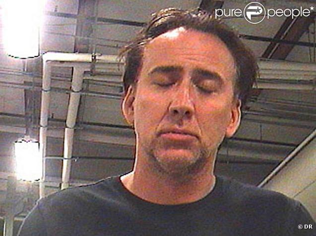 Mugshot de Nicolas Cage après son arrestation à la Nouvelle-Orléans en avril 2011