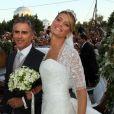Tatiana Blatnik est absolument radieuse. Grèce, 25 août 2010