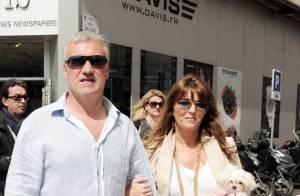 Didier Deschamps : Promenade en amoureux avec Claude, au soleil de Cannes !