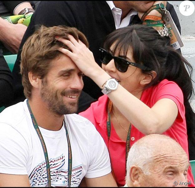 Nolwenn Leroy et son chéri Arnaud Clément, les amoureux dans les tribunes à Roland Garros