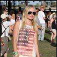 Kate Bosworth et son amoureux Alexander Skarsgård au festival de Coachella, à Indio, le 15 avril 2011