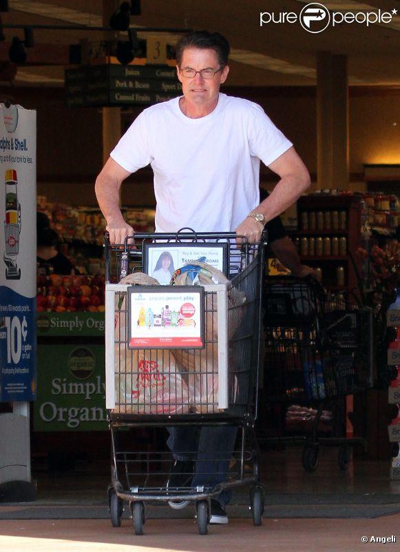 Kyle MacLachlan fait ses courses à Los Angeles le 16 avril 2011