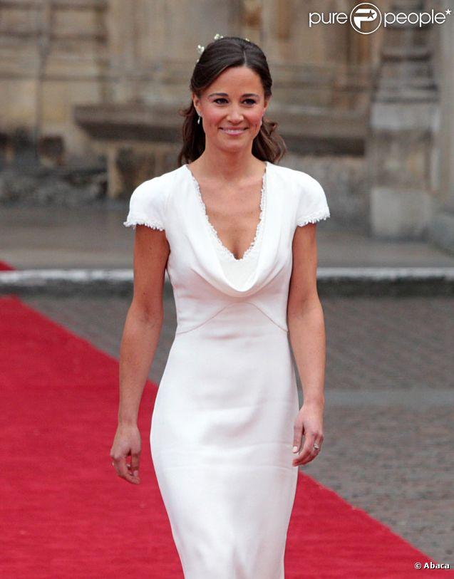 Pippa Middleton à l\u0027Abbaye de Westminster à l\u0027occasion du mariage de sa