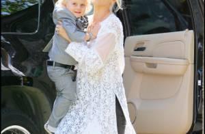 Gwen Stefani : Entourée de sa petite tribu, la chasse aux oeufs est ouverte !