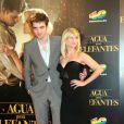 Robert Pattinson et Reese Witherspoon lors de l'avant-première à Barcelone en Espagne le 1er mai 2011
