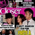 Le magazine Closer, en kiosques le samedi 7 mai.