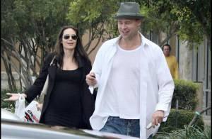 Angelina Jolie et Brad Pitt ont rendu visite aujourd'hui à leur ami Bono ...( réactualisé)