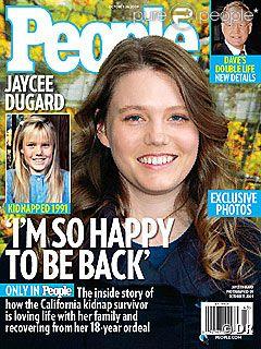 Jaycee Dugard en couverture de People Magazine en mai 2011