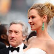 Cannes 2011 : Uma Thurman, superbe déesse du jury présidé par Robert de Niro !