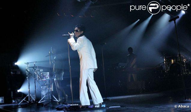 Prince en concert à Minneapolis, le 7 juillet 2007.