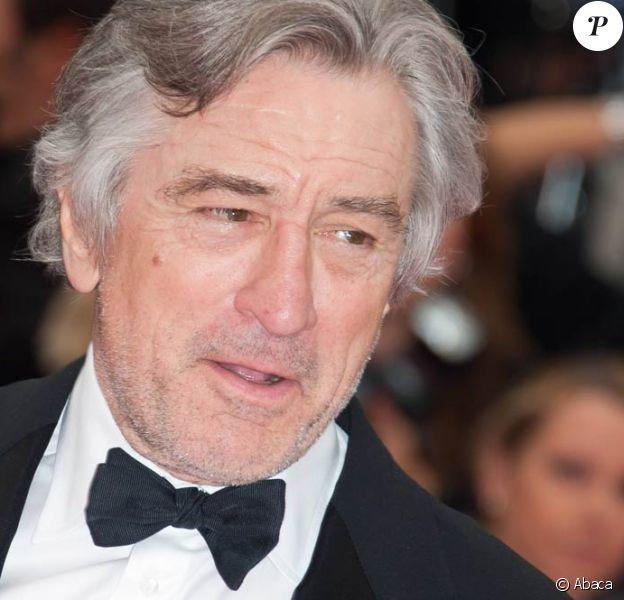 Robert de Niro, lors du 64e Festival de Cannes, en mai 2011.