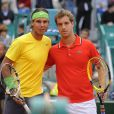 Comme à Monte-Carlo au mois d'avril (photo), c'est Rafael Nadal qui a stoppé le parcours de Richard Gasquet au Masters de Rome en mai.