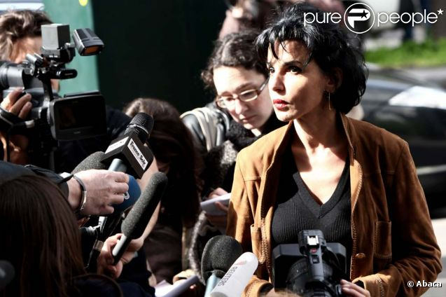 Rachida Dati, à Paris, le 5 avril 2011.