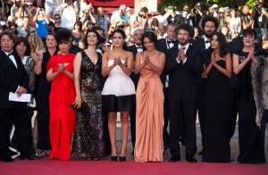 Cannes 2011 : Leïla Bekhti, sublime et bouleversée sur les marches du palais !
