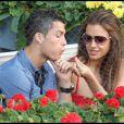 Cristiano Ronaldo et Irina Shayk assistent à la finale de l'Open de Madrid, en mai 2011.