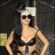 Lady Gaga dédicace son album à New York, le 23 mai 2011.