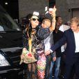 Lady Gaga, promotion de l'album  Born This Way , à New York, le 23 mai 2011.