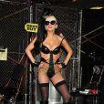Lady Gaga, promotion de l'album  Born This Way , à New York, le 23 mai 2011. Un look de plus en plus trash...