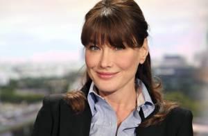 Carla Bruni enceinte : Elle reste active pour Barack Obama !