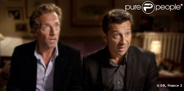 Stéphane Freiss et Laurent Gerra dans It is Miracul'House !