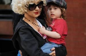 Christina Aguilera : Son petit Max Liron, trois ans, est déjà un caïd !