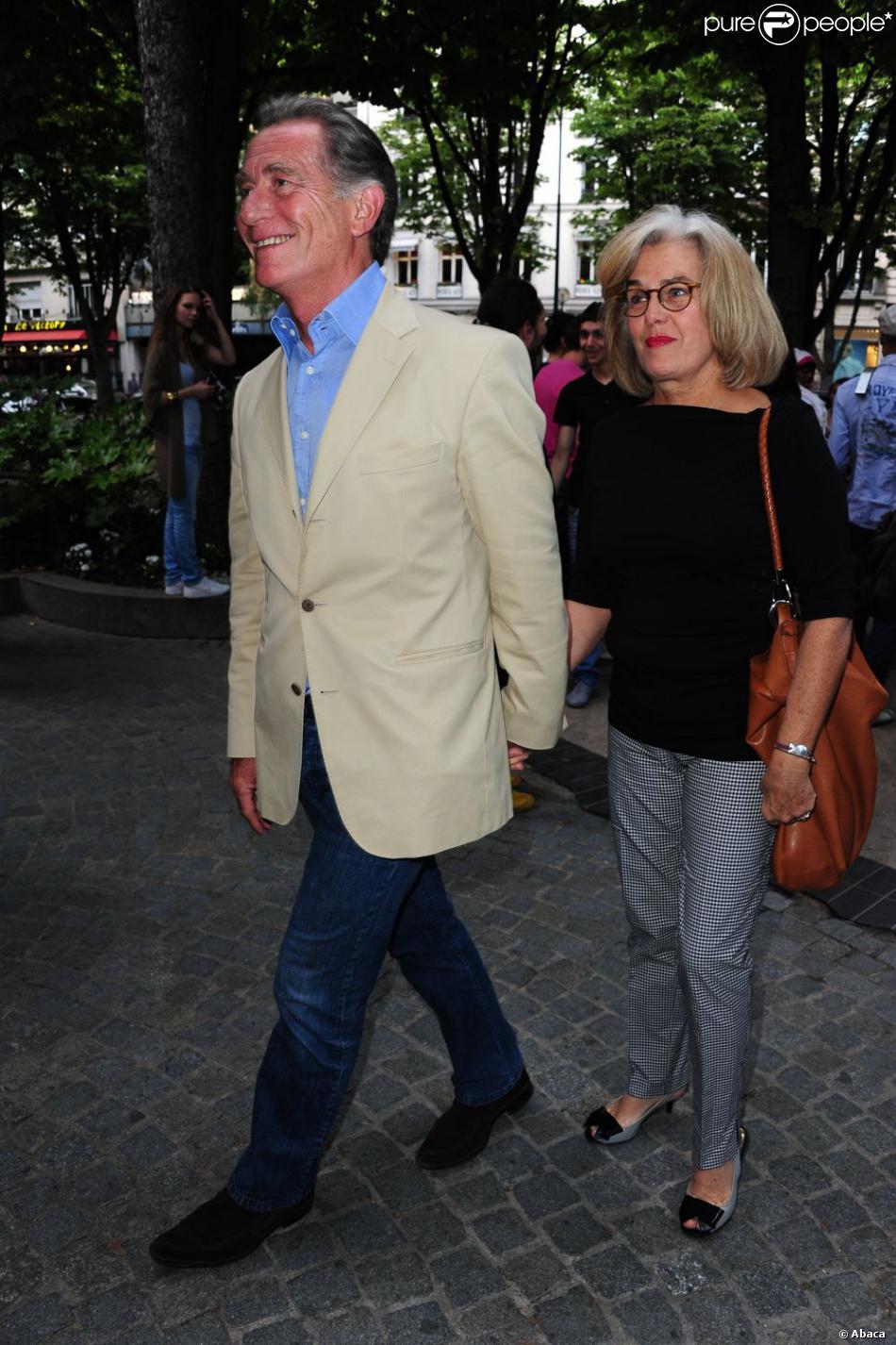 William leymergie et son pouse arrivent la la cinqui me f te annuelle de la fondation - Laurent bignolas et son epouse ...