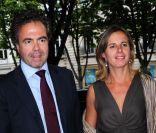 Luc Chatel et sa femme Astrid arrivent à la cinquième fête annuelle ...