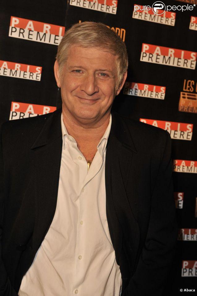 Patrick Sébastien au Gérard de la télévision le 7 décembre 2009.