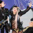 Lady Gaga inaugure la série de concert estival du  Good Morning America  sur ABC, à Central Park à New York, le 27 mai 2011.