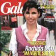Rachida Dati en couverture du magazine Gala, en kiosques le 1er juin 2011.