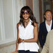 Naomi Campbell et Jacques Chirac ensemble à Venise pour l'amour de l'art !