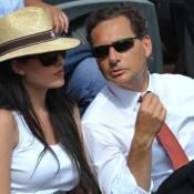 Yasmine et Eric Besson: Les jeunes mariés savourent la finale de Roland-Garros !