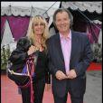Daniel Russo et sa femme Lucie lors de la soirée La Charcuterie fait son cirque au Cirque Diana Moreno à Paris dans le cadre de la semaine de la charcuterie artisanale du 4 au 12 juin 2011