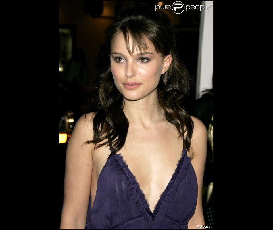 Natalie Portman Legerement Brune Maquillage Femme Ange
