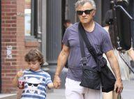 Harvey Keitel, un véritable monsieur Tout-le-monde avec son jeune fils