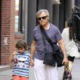 Harvey Keitel et Roman, son plus jeune fils, le 9 juin à New York