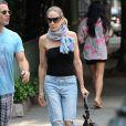 Sarah Jessica Parker rentre chez elle à West Village à New York le 10 juin 2011 après avoir rendu visite à un ami