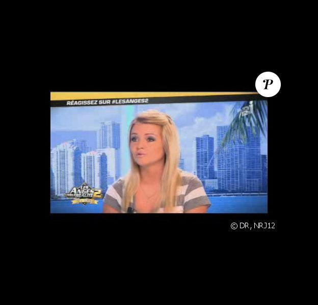 Vanessa (Secret Story 3) est l'invitée des Anges de la Télé-Réalité - Le Mag, lundi 13 juin 2011 sur NRJ12.