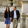 """""""Kate Middleton et le prince William le lendemain de leur mariage, le 30 avril 2011, à Londres."""""""