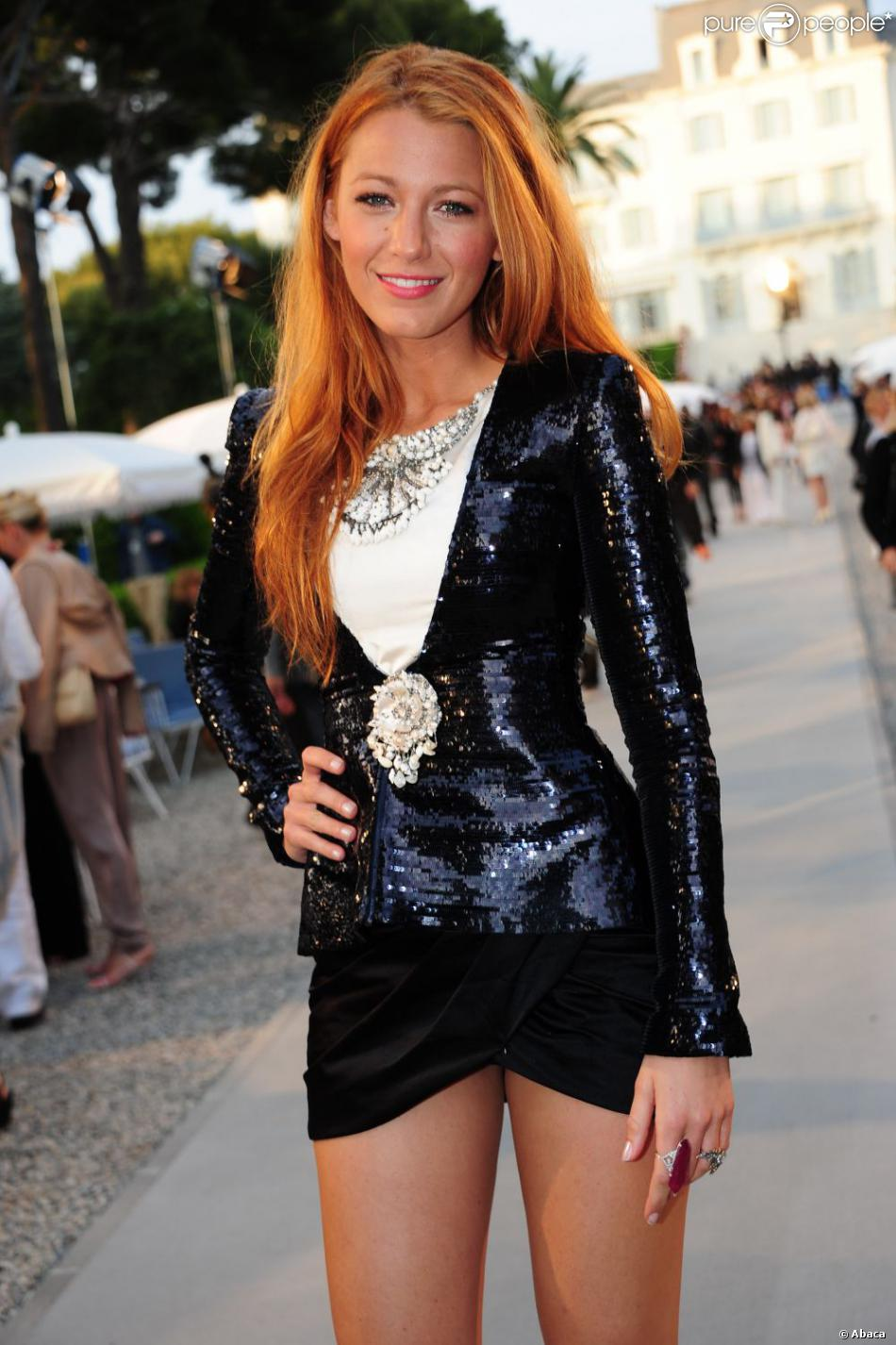 Blake Lively à Antibes En Mai 2011 Purepeople