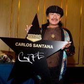Carlos Santana ose le T-Shirt transparent... ¡ Ay, caramba !