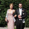 Un an après leur union civile, la princesse Nathalie de Sayn-Wittgenstein-Berleburg, et Alexander Johanssmann se sont mariés religieusement, le 18 juin 2011, à Bad Berleburg.