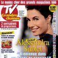 Alessandra Sublet, en couverture de TV Grandes Chaînes en kiosque le 20 juin 2011.