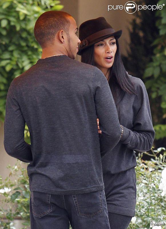 Lewis Hamilton et Nicole Scherzinger à Beverly Hills le 20 juin 2011