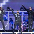 Les Black Eyed Peas au stade de France à Paris, le 22 juin 2011. Ils s'y produiront également le 24 et 25 juin 2011.