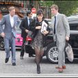 Lily Allen dans les rues de Paris avec son époux Sam Cooper est allée admirer le défilé Vuitton le 23 juin 2011