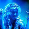 Ke$ha lors du Festival de Glastonbury, en Angleterre, le 24 juin 2011.